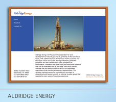 Aldridge Energy Web Project