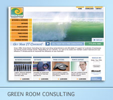 Green Room Consulting Website