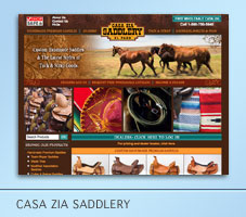 Casa Zia Saddlery ECommerce Project